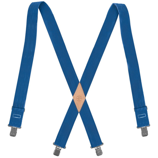 Nylon-Web Suspenders with Adjustable Back