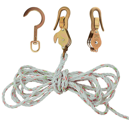 Block and Tackle, Spliced to Block 268, w/Hook 259