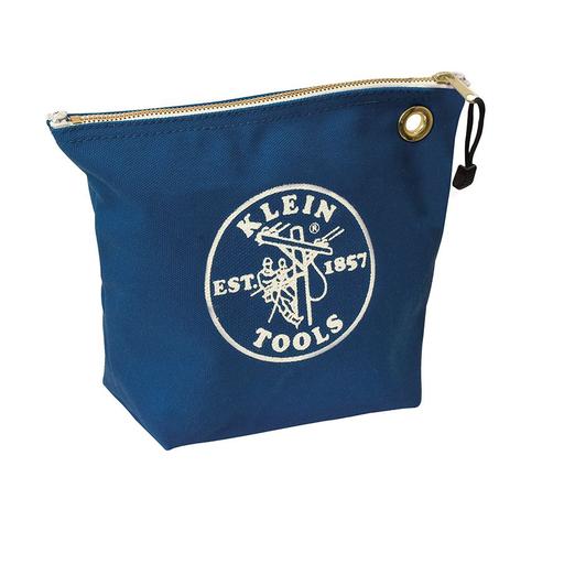 Mayer-Canvas Zipper Bag, Consumables, Blue-1