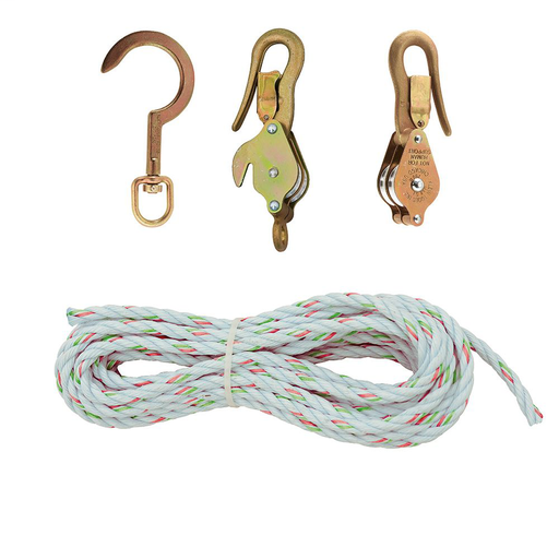 Block and Tackle, Spliced to Block 268, w/Hook 258