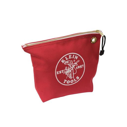Mayer-Canvas Zipper Bag, Consumables, Red-1