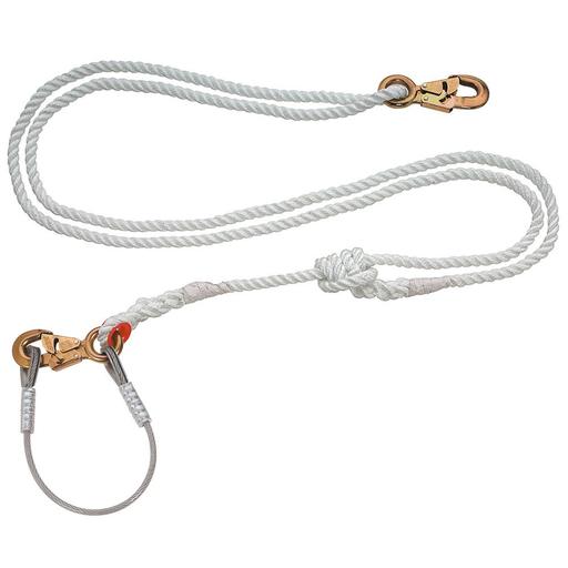 Adjustable Nylon-Filament Lanyard, 7 to 12-Foot