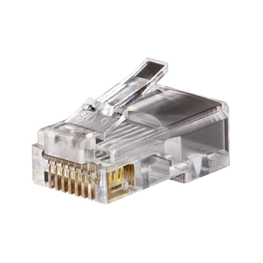 Modular Data Plugs RJ45 CAT5e, 50-Pack