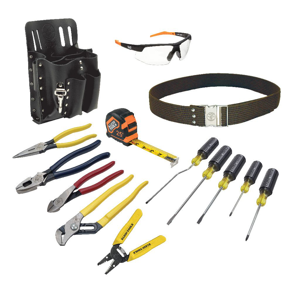 Klein 80014 14pc Electrician's Tool Kit