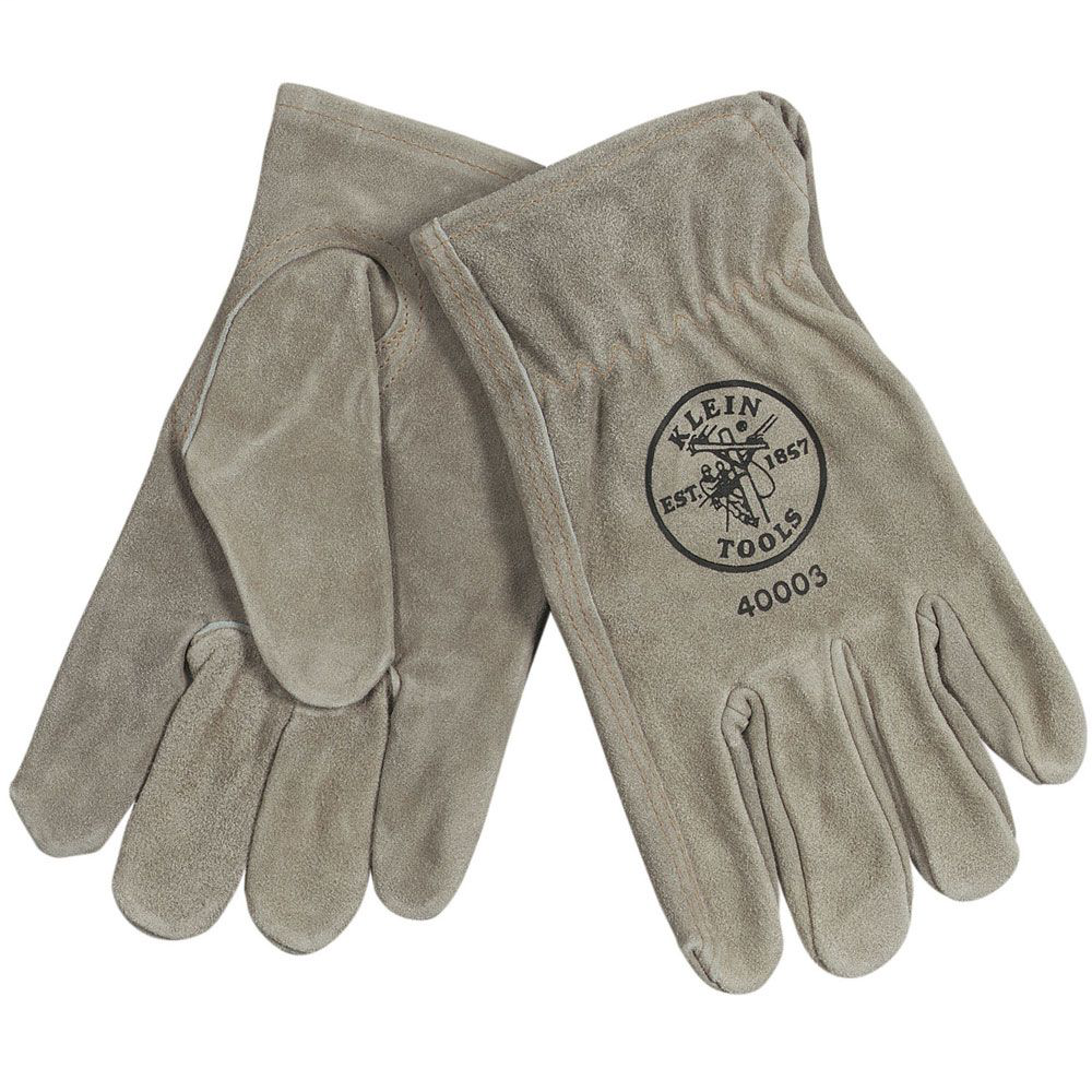 Klein 40003 Cowhide Driver's Gloves - Small