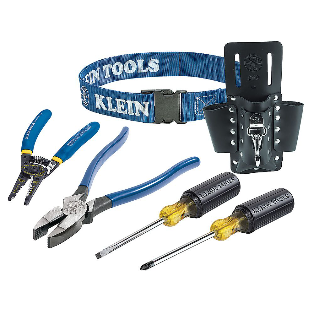 Klein 80006 6-Piece Electrician Tool Trim-Out Set