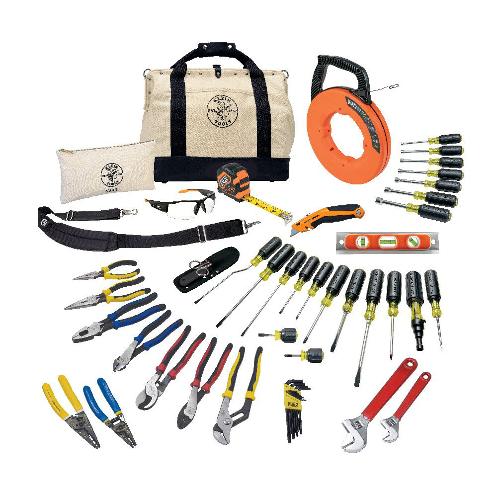 Klein 80141 41pc Journeyman™ Tool Kit