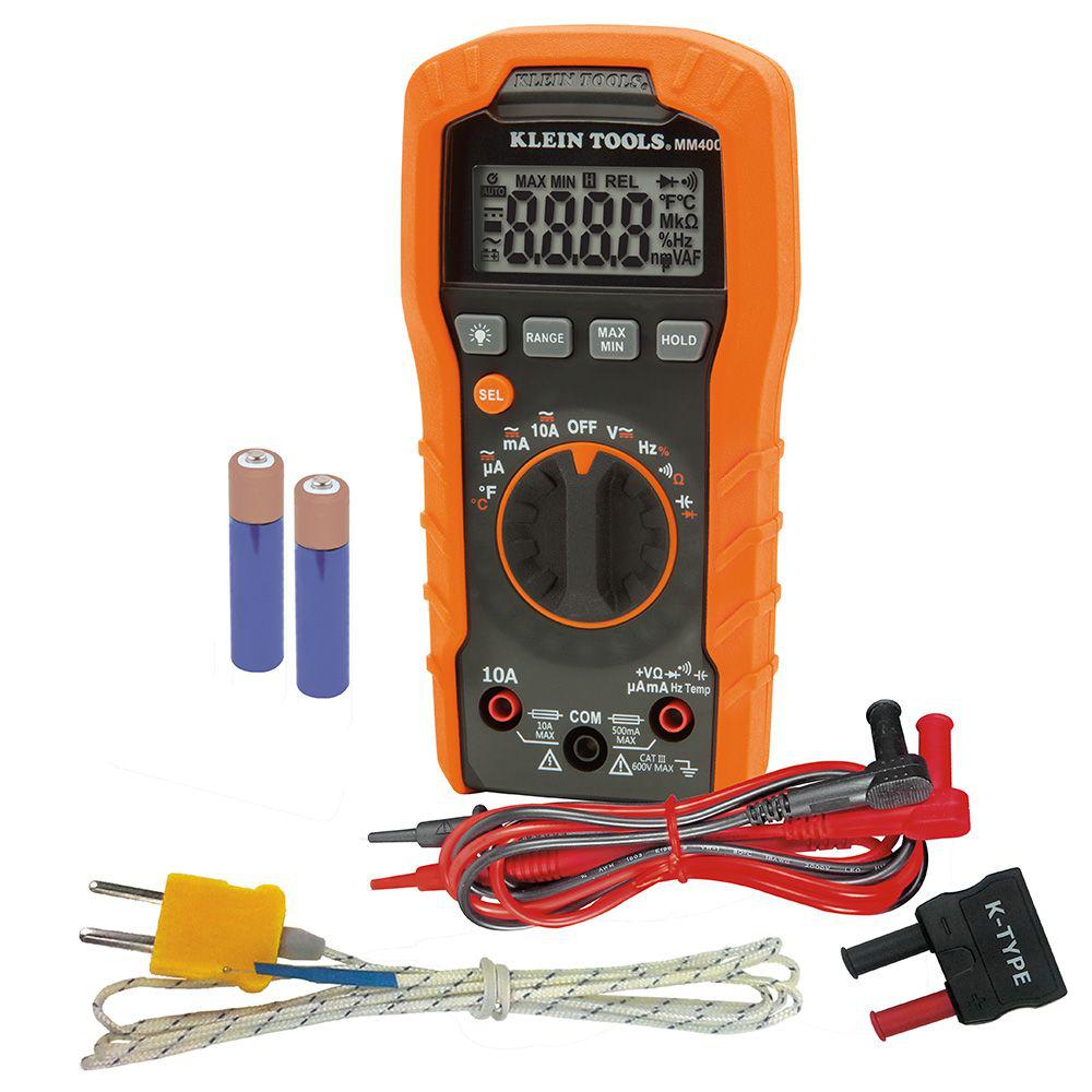 Mayer-Digital Multimeter, Auto-Ranging, 600V-1