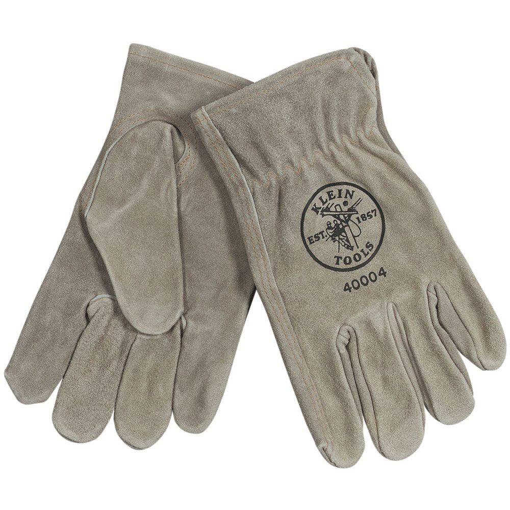 Klein 40004 Cowhide Driver's Gloves - Medium