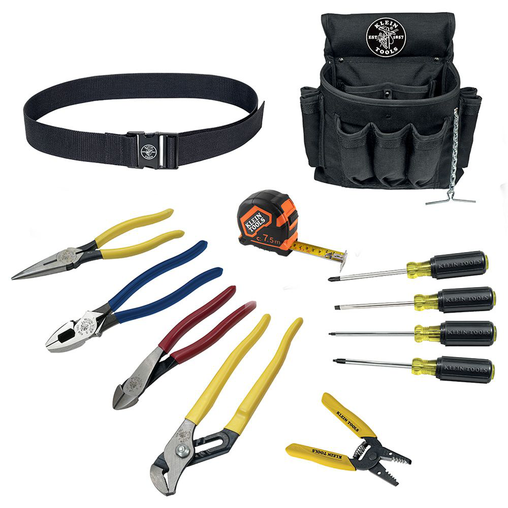 Klein 92003 12pc Electrician's Tool Set