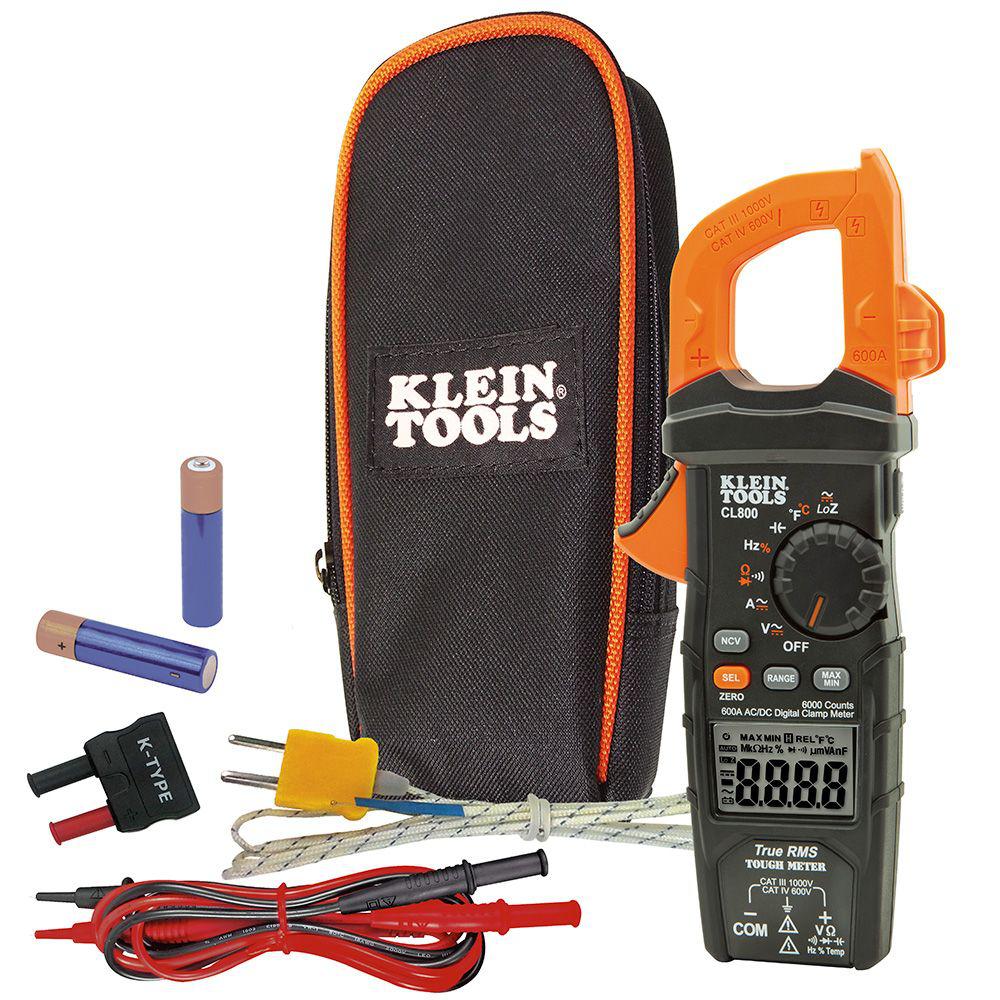 Mayer-Digital Clamp Meter, AC Auto-Range TRMS, Low Impedance (LoZ), Auto Off-1
