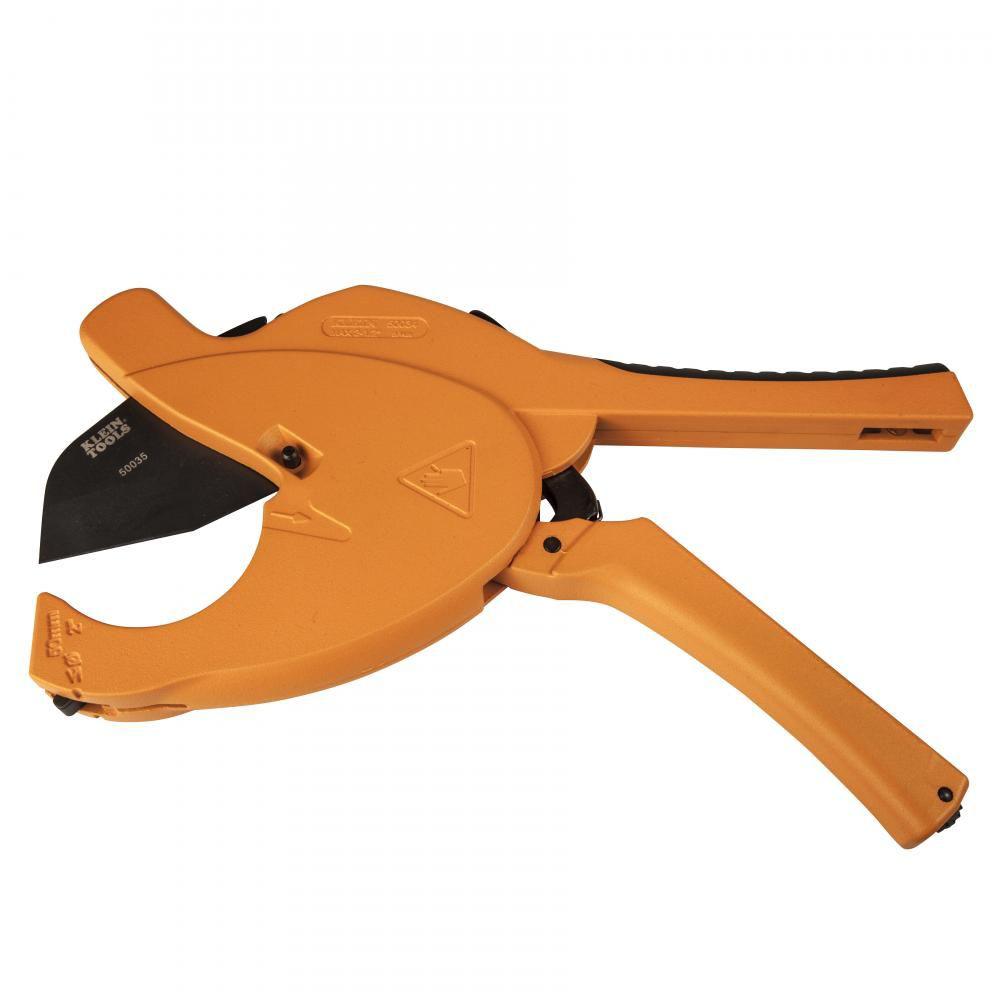"Klein 50034 .5-2.5"" PVC Ratcheting Cutter"