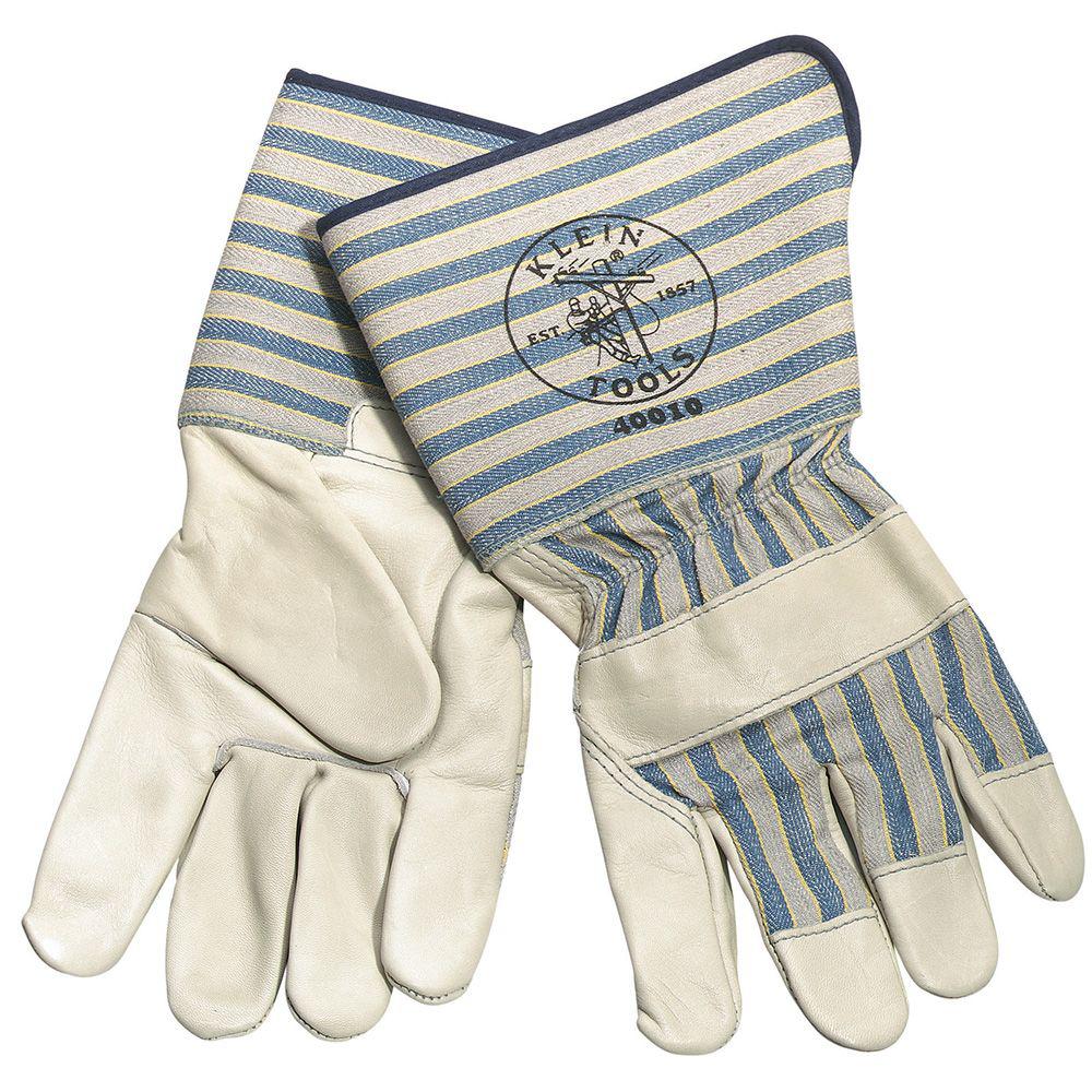 Klein 40010 Long-Cuff Gloves - Large