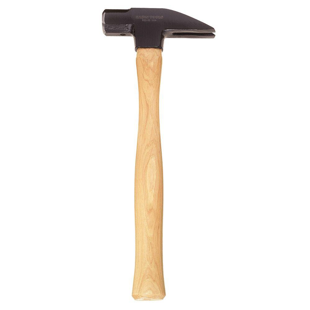 Klein 832-32 32oz Lineman's Straight-Claw Hammer