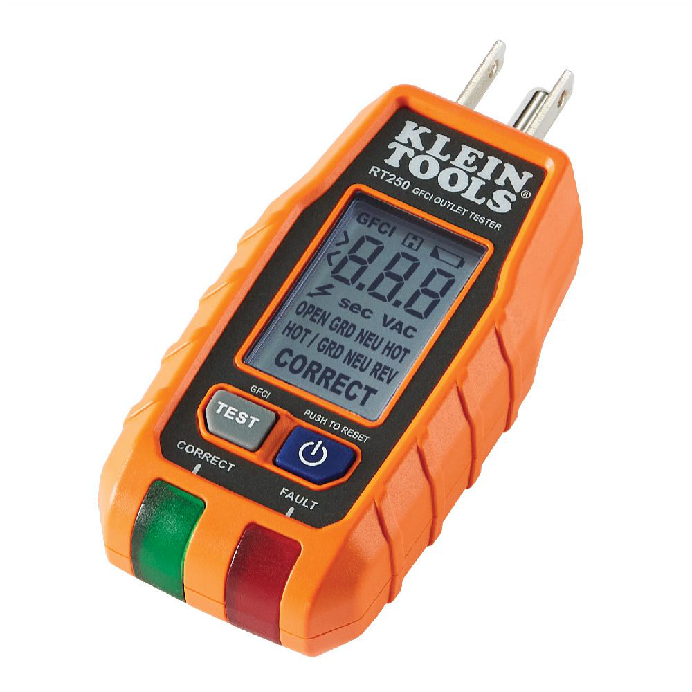 KLEIN RT250 GFCI RECEPTACLE TESTER LIKELY SUBJECT TO TAX