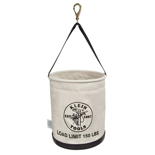 Mayer-Canvas Bucket, All-Purpose with Swivel Snap and Drain Holes, 12-Inch-1