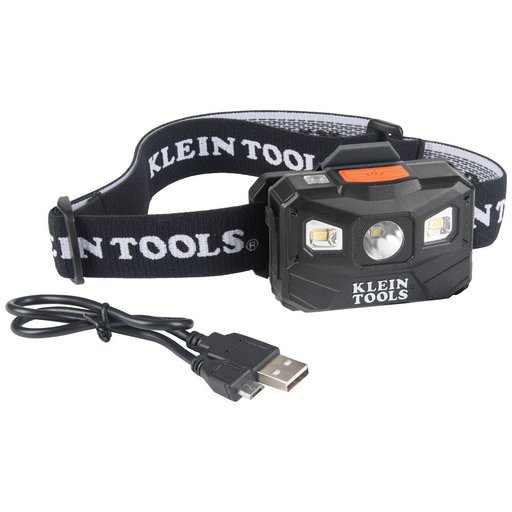 Mayer-Rechargeable Headlamp with Strap, 400 Lumen All-Day Runtime, Auto-Off-1