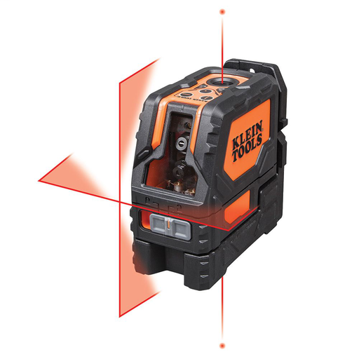 Mayer-Laser Level, Self-Leveling Red Cross-Line Level and Red Plumb Spot-1