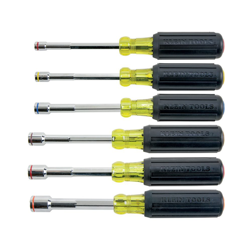 Mayer-Nut Driver Set, Magnetic Nut Drivers, Heavy Duty, 6-Piece-1