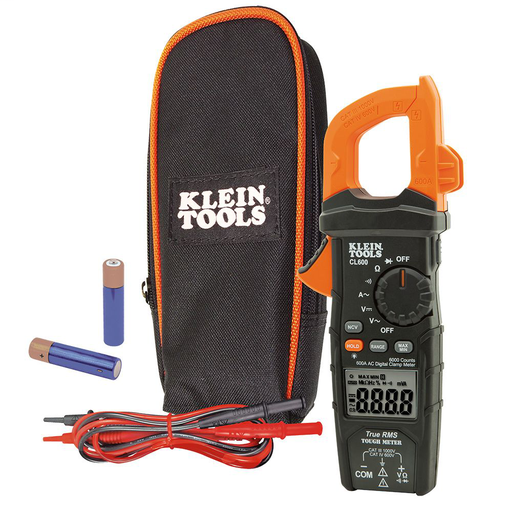 Mayer-Digital Clamp Meter, True RMS, AC Auto-Ranging, 600 Amps-1