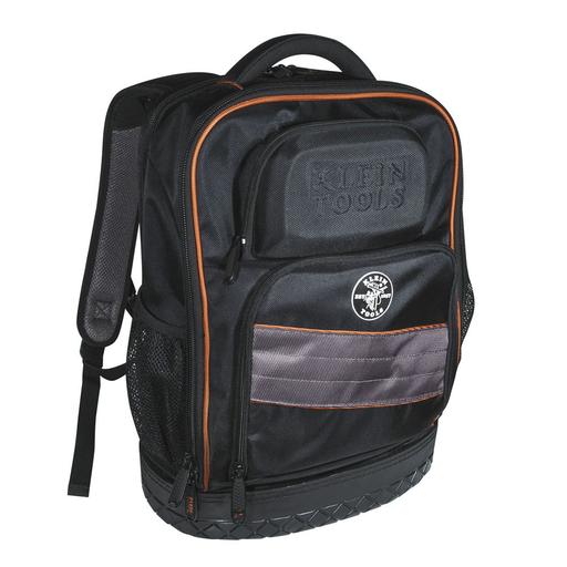 Mayer-Tradesman Pro™ Laptop Backpack / Tool Bag, 25 Pockets, Black Nylon-1