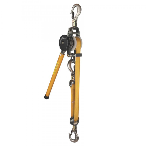 Web-Strap Ratchet Hoist