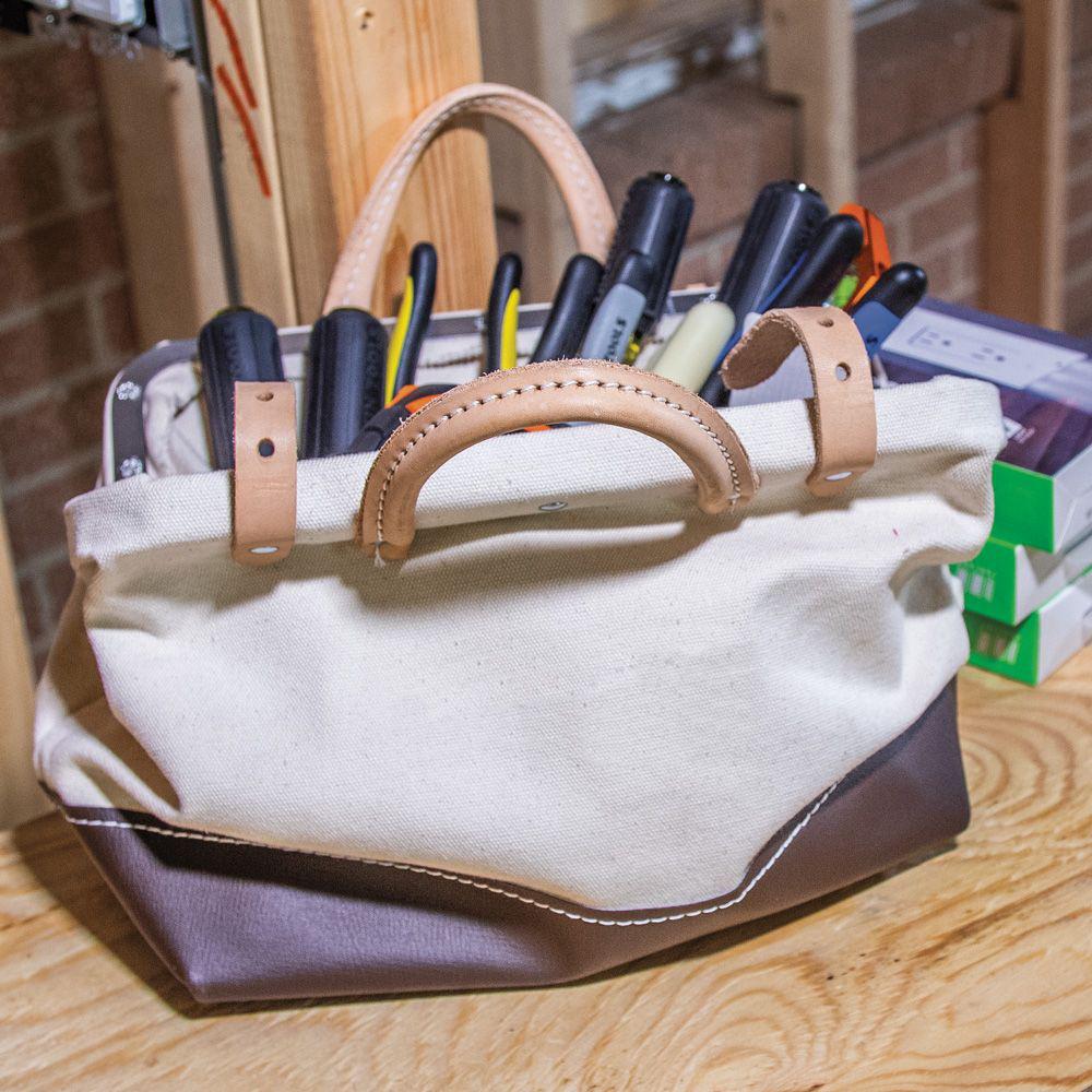 Canvas Tool Bag, 14-Inch