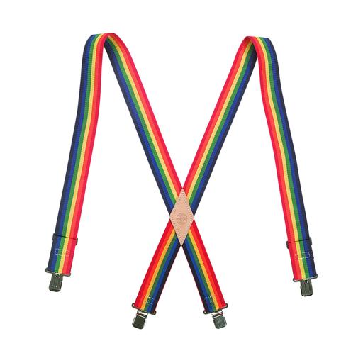 Nylon-Web Suspenders with Adjustable Back