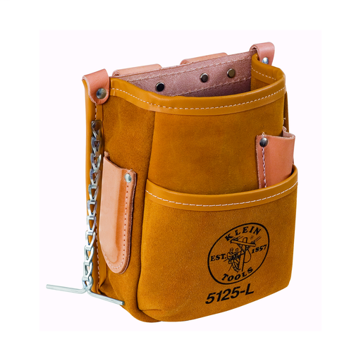 Mayer-Pocket Tool Pouch with Tape Thong, Leather-1