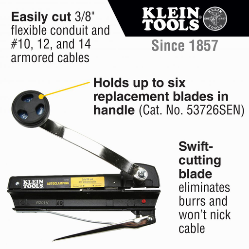 Armored and BX Cable Cutter