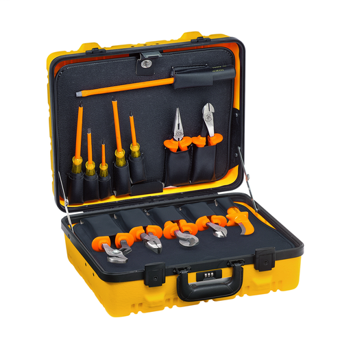 1000V Insulated Utility Tool Kit in Hard Case, 13-Piece