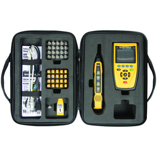 Cable Tester, Commander™ VDV Tester and Test-n-Map Remote Kit