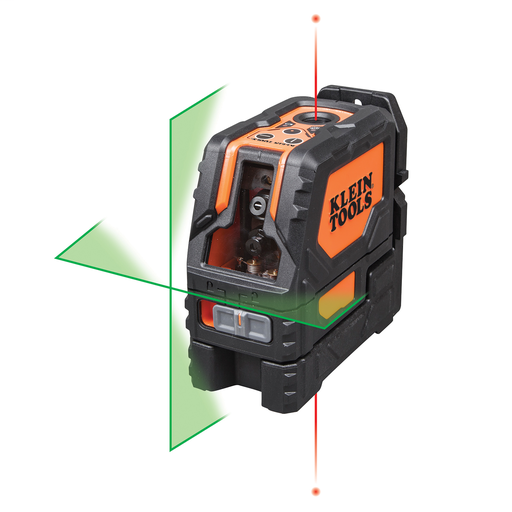 Mayer-Laser Level, Self-Leveling Green Cross-Line and Red Plumb Spot-1