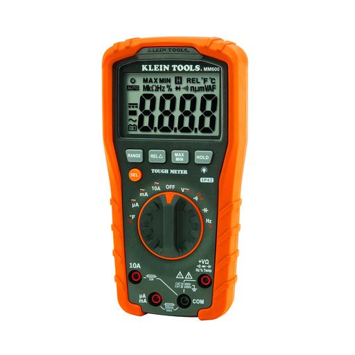 Mayer-Digital Multimeter, Auto-Ranging, 1000V-1
