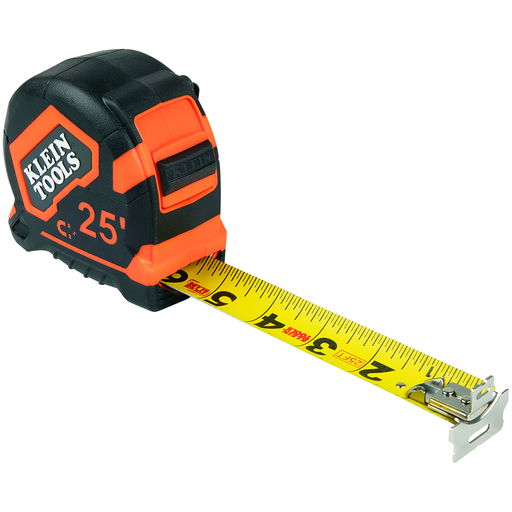 Mayer-Tape Measure, 25-Foot Magnetic Double-Hook-1