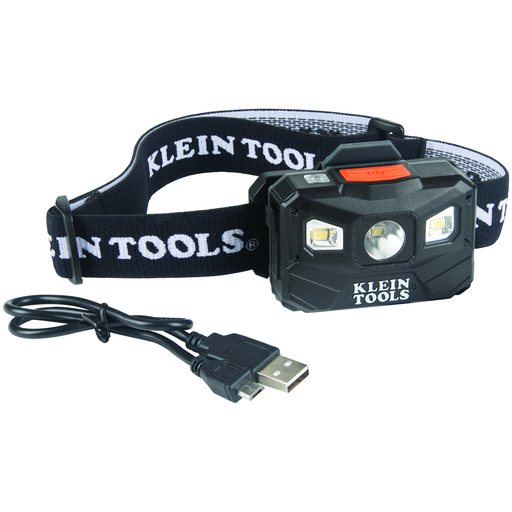 Mayer-Rechargeable Headlamp with Fabric Strap, 400 Lumens, All-Day Runtime-1