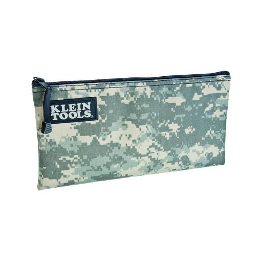 Zipper Bag, Camouflage Cordura Nylon Tool Pouch, 12-1/2-Inch