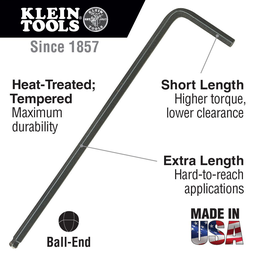 .05-Inch Hex Key, L-Style Ball-End