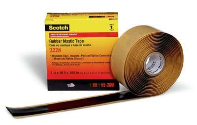 3M 2228-2x3FT Rubber Mastic Tape
