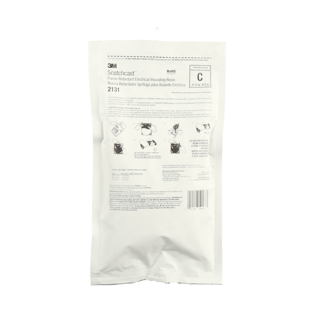 3M Industrial Safety 2131C 21.7 oz Flame Retardant Compound