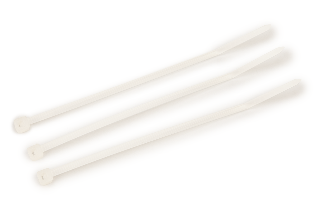 3M CT4NT18-C 100/Bag 4 Inch Natural 18 lb Cable Tie