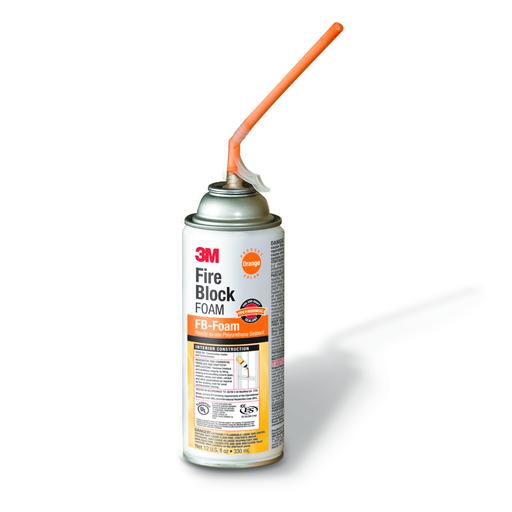 Mayer-3M™ Fire Block Foam FB-Foam, Orange, 12 fl oz Can, 12/case-1