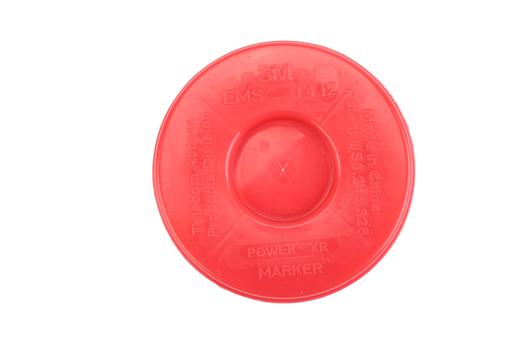3M™ Disk Marker 1411-XR, 5 ft Range, Telephone, Not for Direct Bury, 210/Case