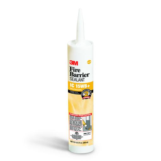 Mayer-3M™ Fire Barrier Sealant IC 15WB+, Yellow, 10.1 fl oz Cartridge, 12/case-1