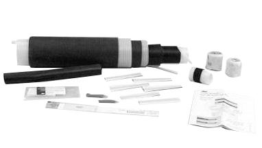 Mayer-3M™ Cold Shrink QS-III Splice Kit 5515A, Longitudinally Corrugated Shield, 15 kV, Standard, 1/case-1