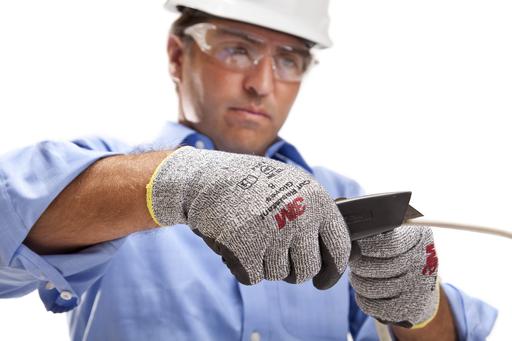 Mayer-3M™ Comfort Grip Glove CGL-CRE, Cut Resistant (ANSI 2), Size L, 72 Pair/Case-1