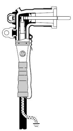 3M™ 200 Amp Industrial Loadbreak Elbow5810-CA-2, 5-8 kV