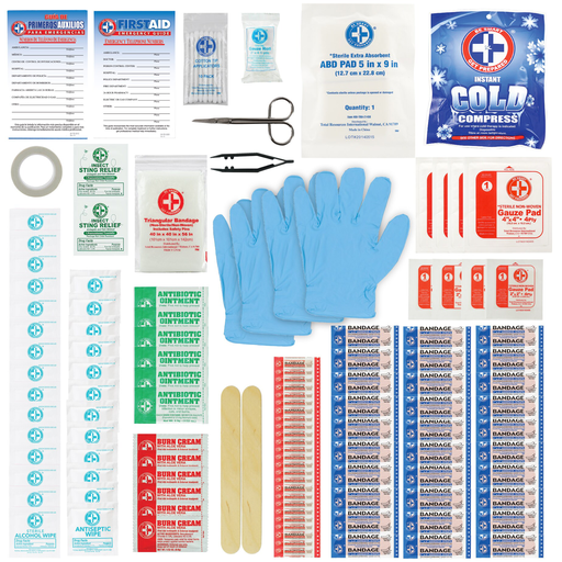 Mayer-3M™ Construction/Industrial First Aid Kit, FA-H1-118pc-DC, 118 pieces, 6/case-1