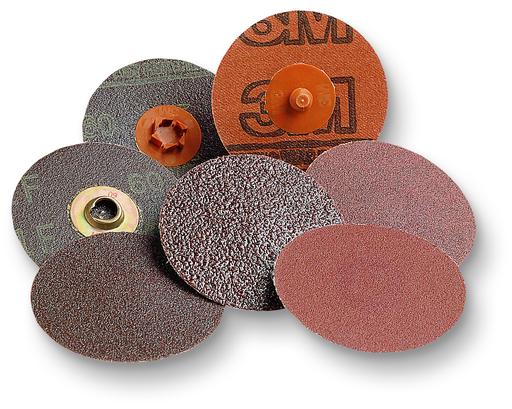 3M™ Roloc™ Disc 361F, 36 YF-weight, TR, 2 in, Die R200P, 50 per inner, 200 per case