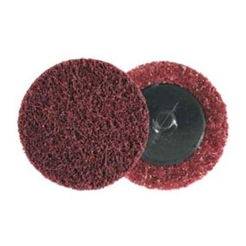 Scotch-Brite™ Roloc™ Surface Conditioning Disc, SC-DR, A/O Medium, TR, 2 in, 50 per inner, 200 per case